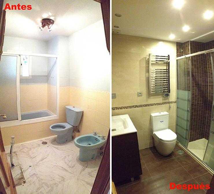 Bathroom by AtelierBas. Arquitectura y Construcción
