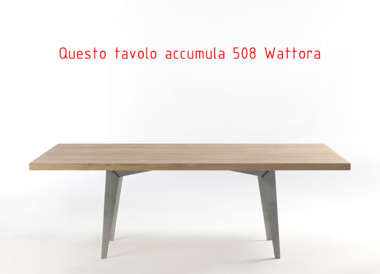 TAVOLO TANGO COLLECTION - SMARTh FUrniTURE: Sala da pranzo in stile  di SMARTh FUrniTURE