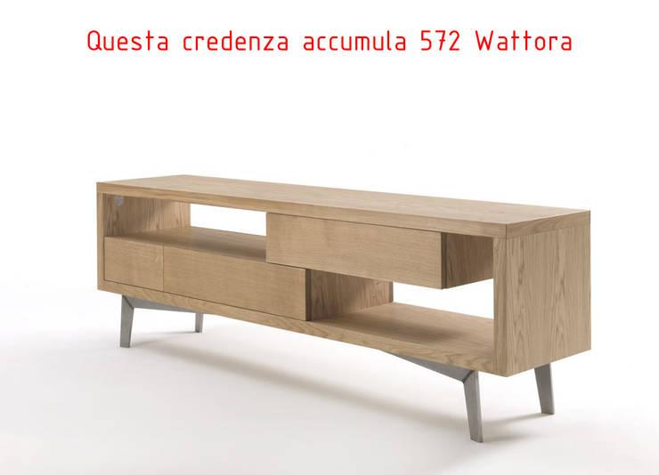CREDENZA TANGO COLLECTION - SMARTh FUrniTURE: Soggiorno in stile  di SMARTh FUrniTURE