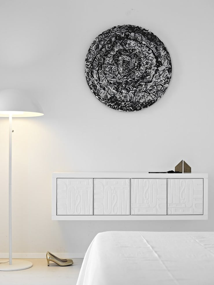 The Loft - Il Vortice: Camera da letto in stile  di D.I. Più s.r.l - Andretto Design,