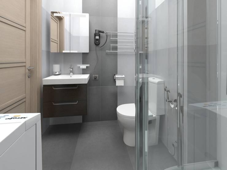 Izumrudniye Kholmy: Ванные комнаты в . Автор – Alfia Ilkiv Interior Designer