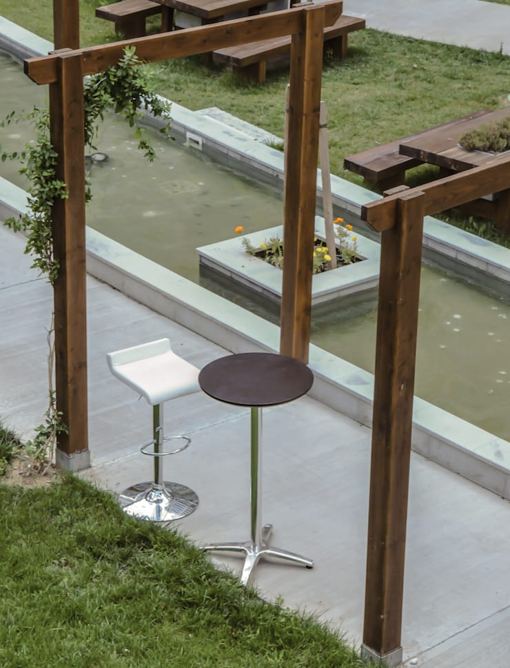 5A Desıgn – BOSPHORUS CITY, RESIDENCE: modern tarz Bahçe