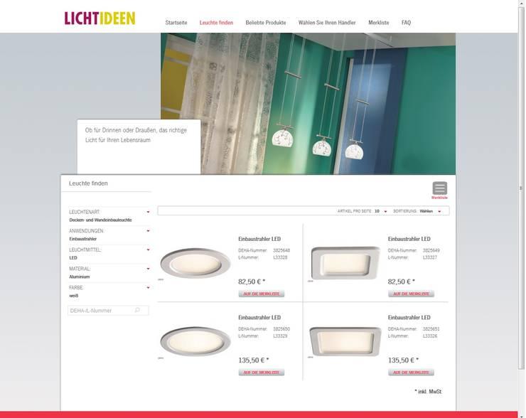 Serviceportal Www Lichtseiten De Und Lichtideen App By Deha