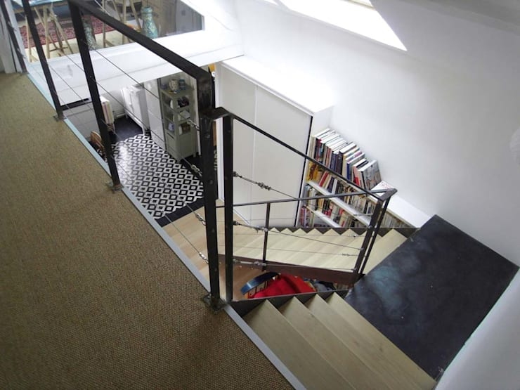 Escalier:  de style  par Latitude 48°