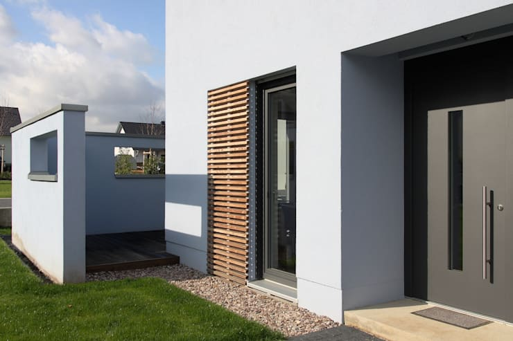 Haus Richter in Erfurt- Schmira:  Häuser von skt umbaukultur Architekten BDA,Modern