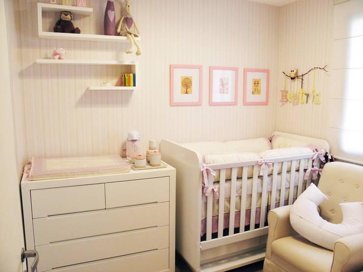 Framboesa, Amora e Baunilha....por favor: Quartos de bebê  por Lígia Bisconti