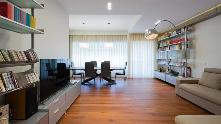modern Living room by Archifacturing
