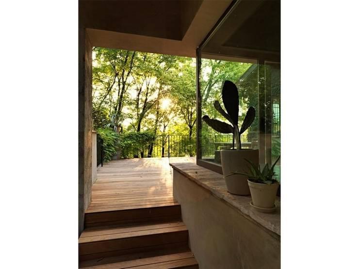 Maison bamboo: Ingresso & Corridoio in stile  di Studio Maggiore Architettura