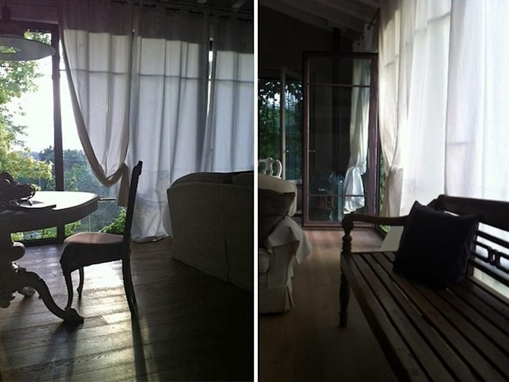 Maison bamboo: Pareti in stile  di Studio Maggiore Architettura