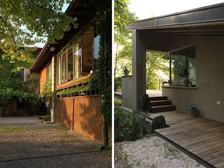 Maison bamboo: Case in stile  di Studio Maggiore Architettura