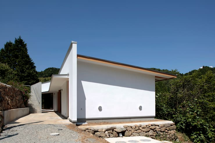 m  annex: 長谷雄聖建築設計事務所が手掛けた家です。,モダン