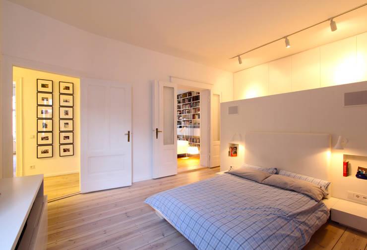 WAF Architektenが手掛けた寝室