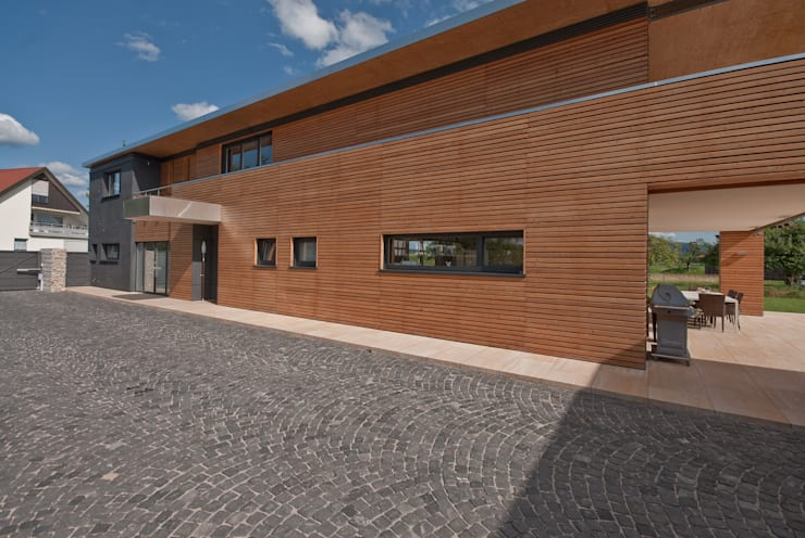 Casas de estilo  por Grossmann Architekten