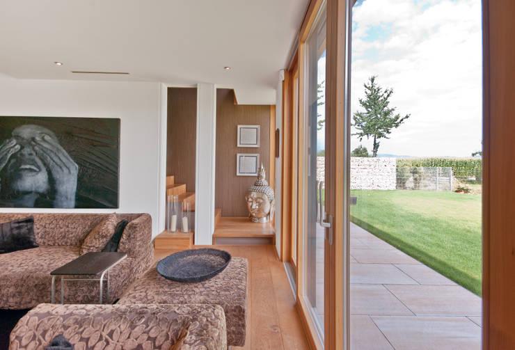 Grossmann Architekten:  tarz Oturma Odası