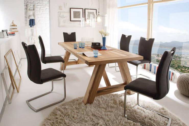 Stół drewniany BIENO: styl , w kategorii Jadalnia zaprojektowany przez mebel4u