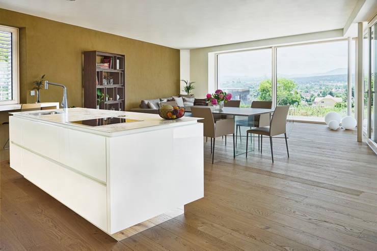 Dining room by AL ARCHITEKT - Architekten in Wien