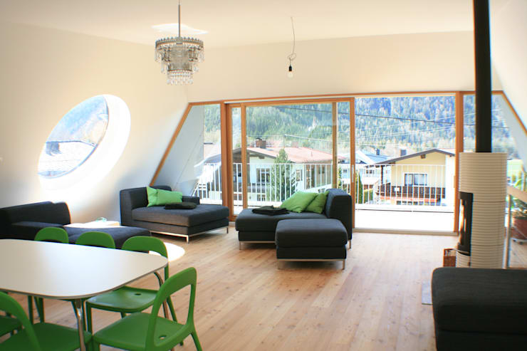 superwien architektur:  tarz Oturma Odası