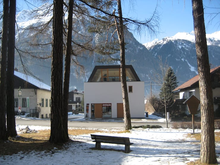 aeki LOFT Ötztal/Tirol:  Häuser von superwien architektur