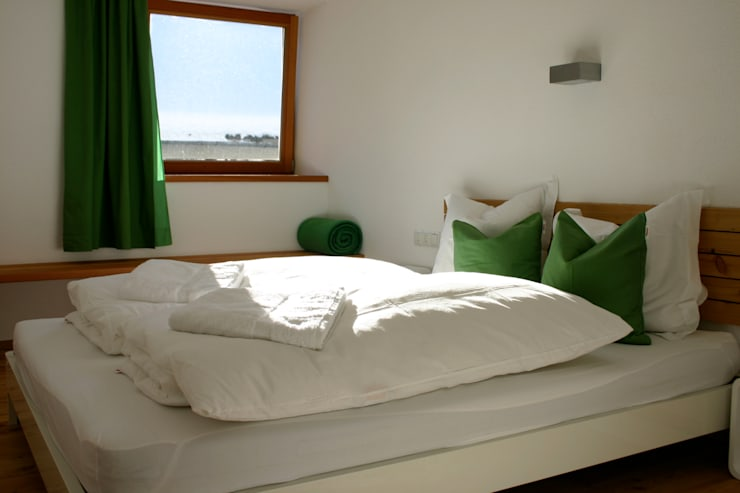 aeki LOFT Ötztal/Tirol:  Schlafzimmer von superwien architektur