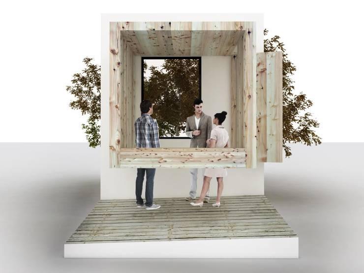 Sensorium – przestrzeń relaksu dedykowana zmysłom: styl , w kategorii  zaprojektowany przez BEZ CUKRU studio projektowe