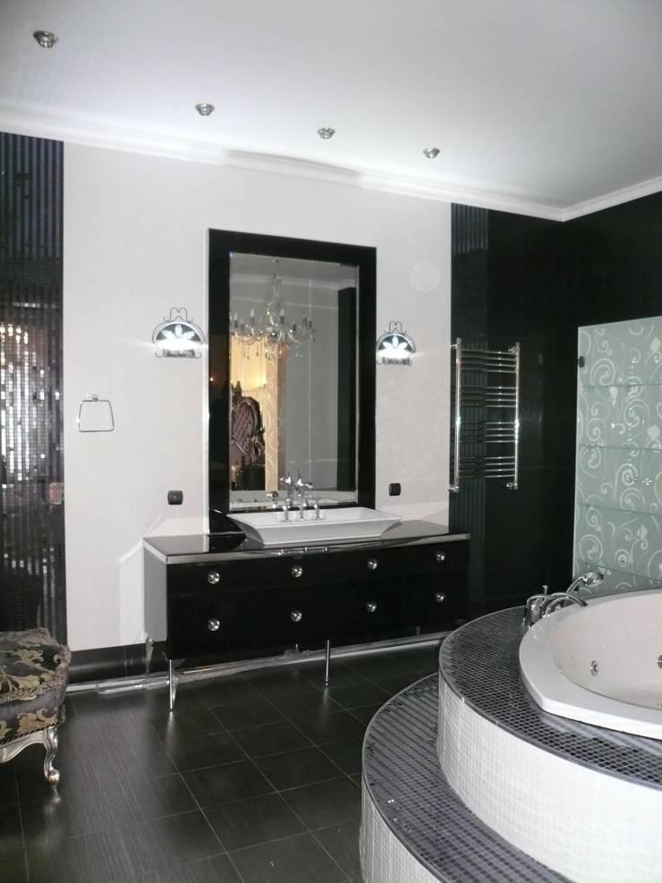 Дизайн интерьера квартиры: Ванные комнаты в . Автор – Antica Style