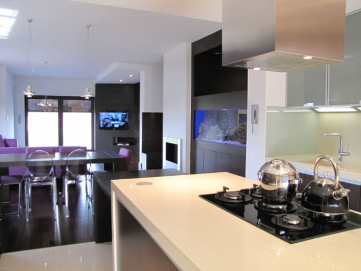Kuchnia: styl , w kategorii Kuchnia zaprojektowany przez Fabryka Wnętrz ,Nowoczesny