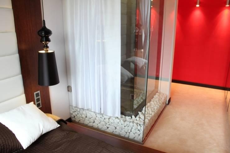 Sypialnia: styl , w kategorii Sypialnia zaprojektowany przez Fabryka Wnętrz ,Nowoczesny