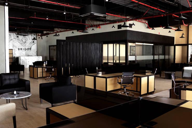 Zona general: Oficinas y tiendas de estilo  por Studio Marco Villa Mateos