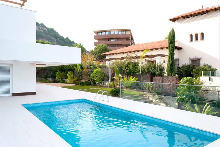 Jardines de estilo  por David Jiménez. Arquitectura y paisaje, Clásico