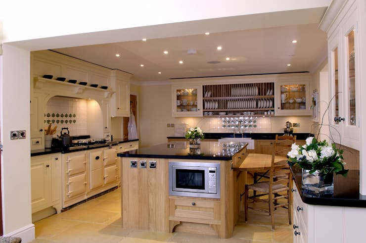 Projekty,  Kuchnia zaprojektowane przez Hartley Quinn WIlson Limited