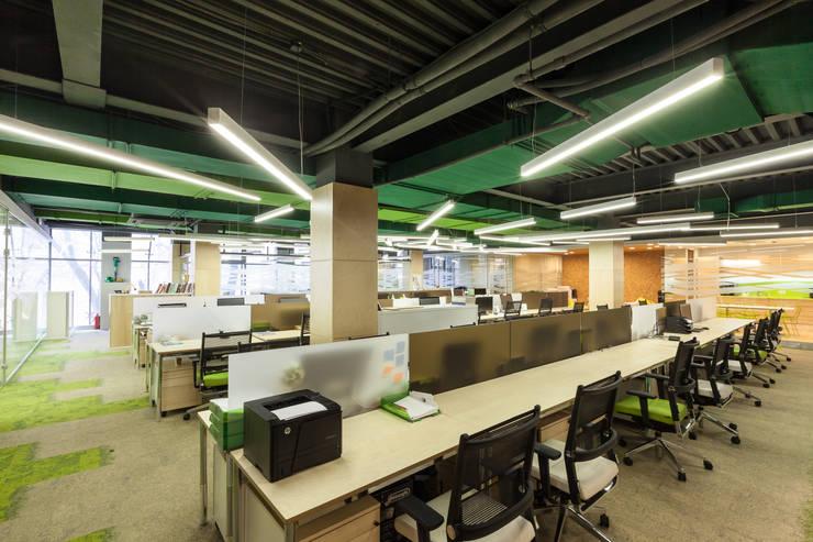 Офис компании <q>Сабидом</q>: Офисные помещения в . Автор – Михаил Новинский (MNdesign)