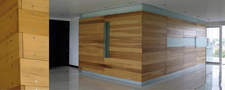 Apartamento 1B Cima Real: Cocinas de estilo  por LEAP Laboratorio en Arquitectura Progresiva