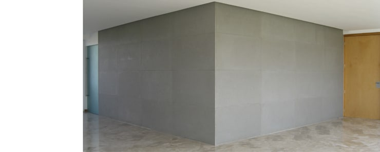 Apartamento 2A Cima Real: Salas de estilo  por LEAP Laboratorio en Arquitectura Progresiva