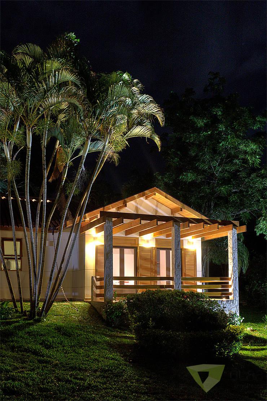 Casa de Campo Quinta do Lago - Tarauata: Casas  por Olaa Arquitetos