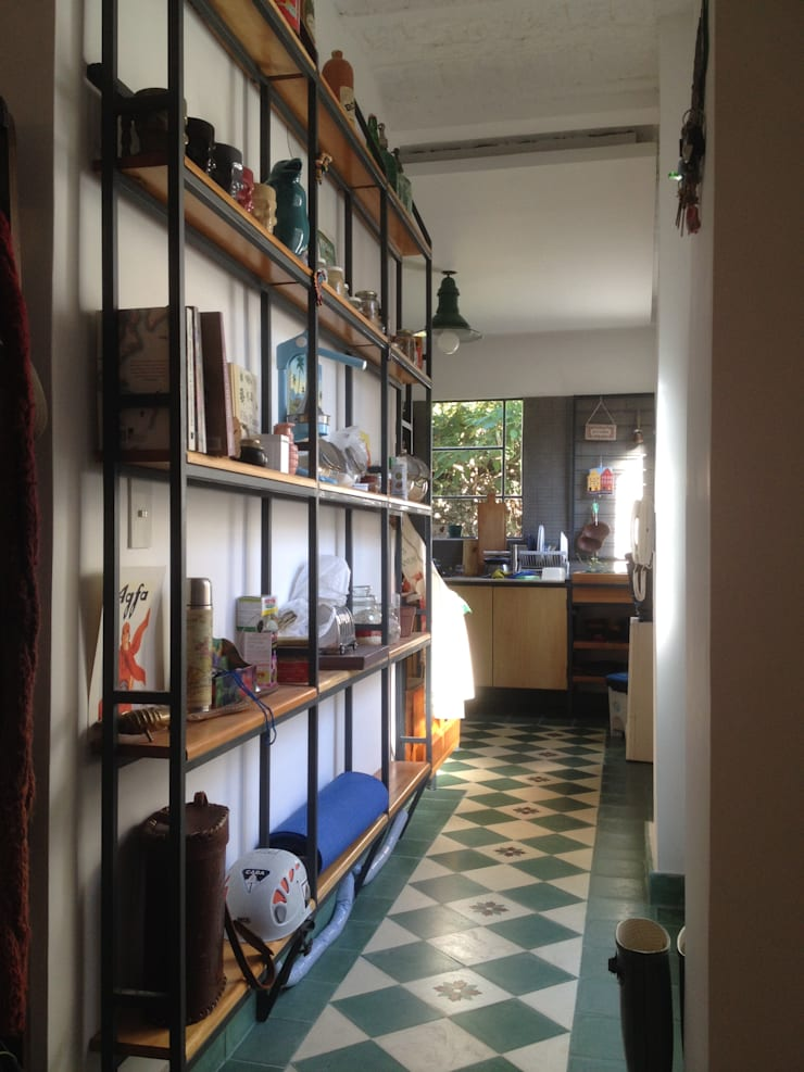CASA FOTOMÁTICA: Cocinas de estilo industrial por ESTUDIO MYGA