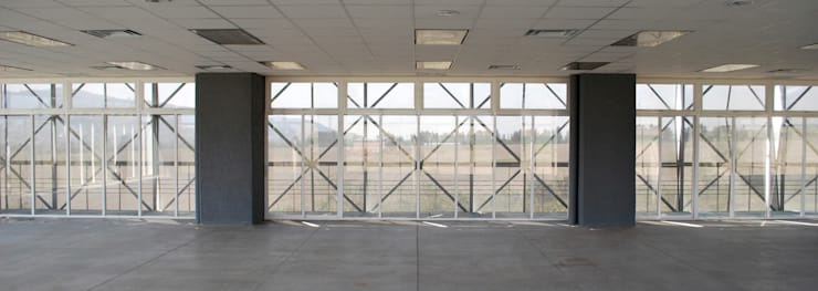 Edificio de Software del IJALTI: Edificios de Oficinas de estilo  por LEAP Laboratorio en Arquitectura Progresiva