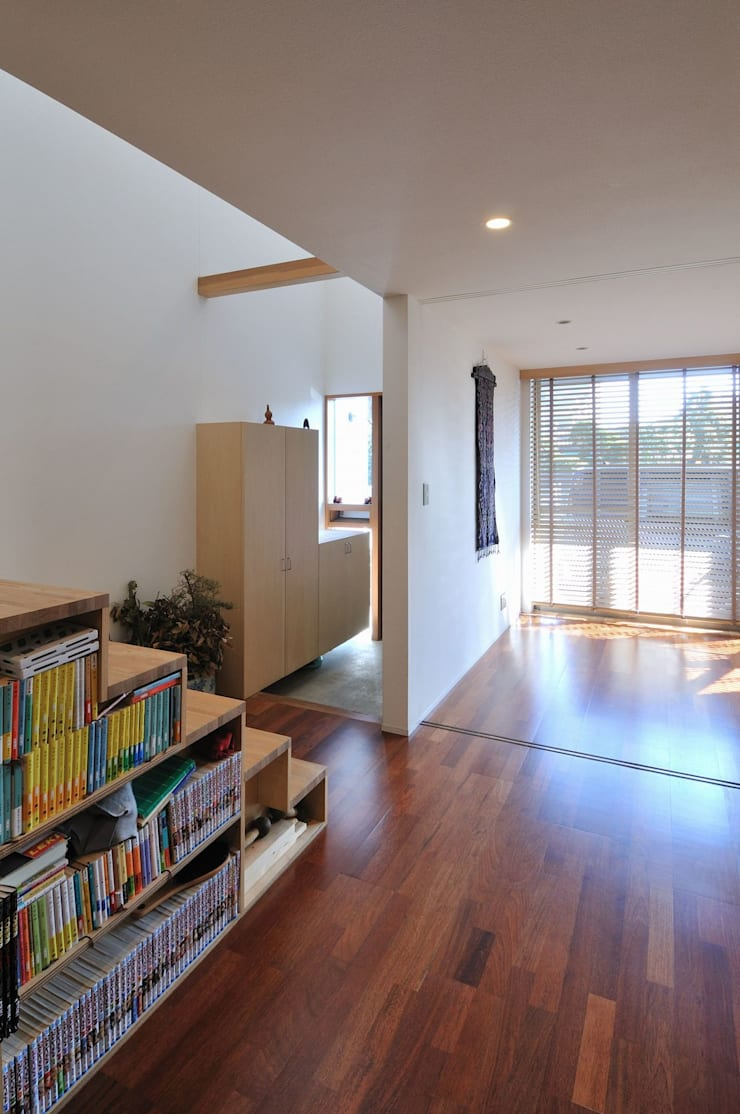 telescope: 岡村泰之建築設計事務所が手掛けた和室です。