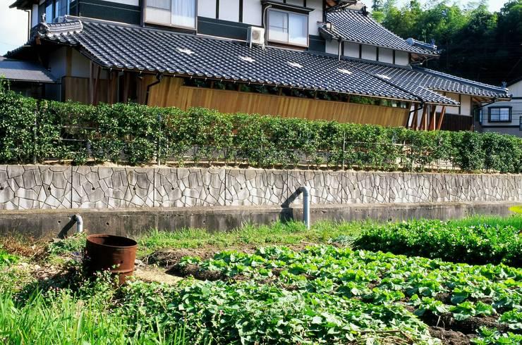 増築部分の外観 日本家屋・アジアの家 の katachitochikara 和風
