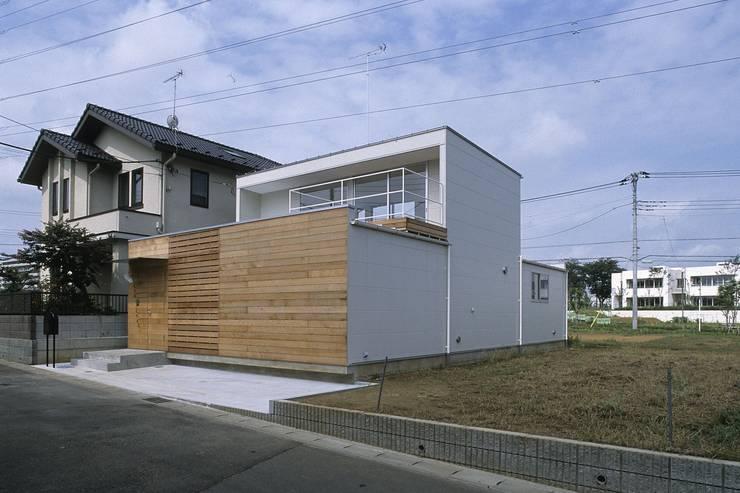 deco-boco: 岡村泰之建築設計事務所が手掛けた家です。