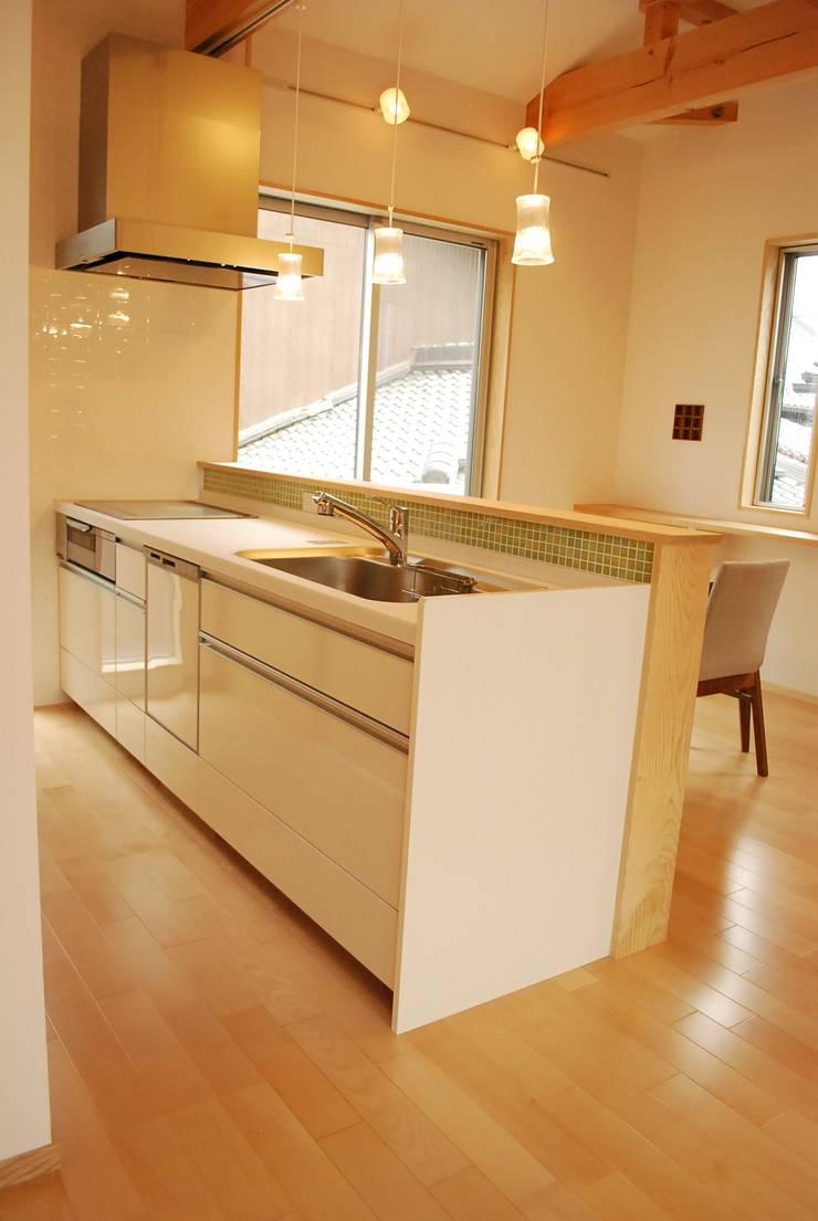 長等の家 : 西川真悟建築設計が手掛けたキッチンです。