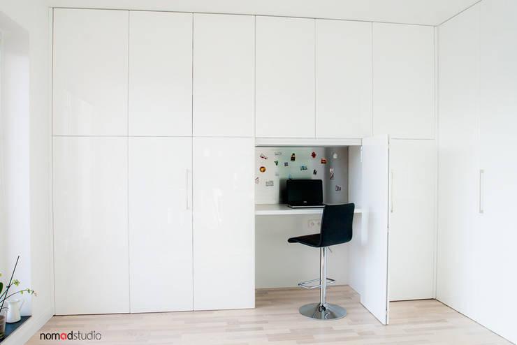 Рабочие кабинеты в . Автор – nomad studio