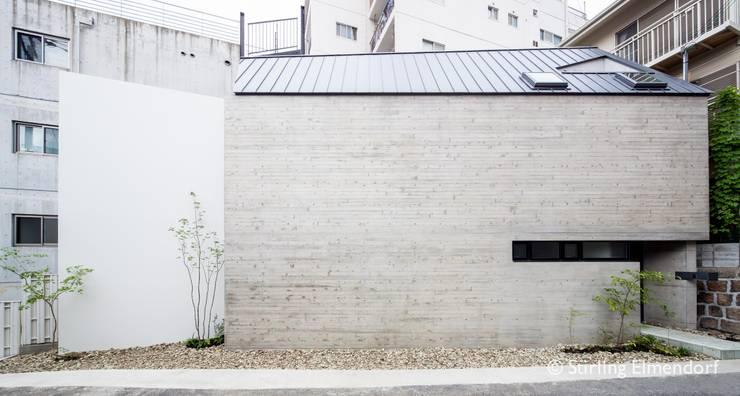 外観2: fujihara architectsが手掛けた家です。,