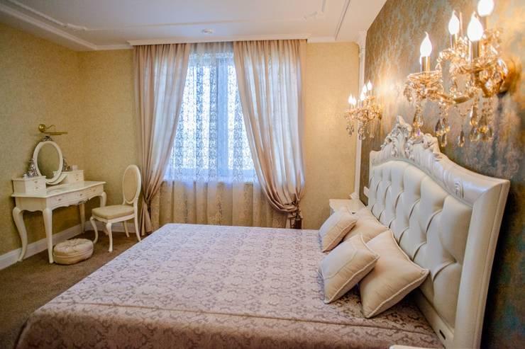 Демо-квартира: Спальни в . Автор – Center of interior design