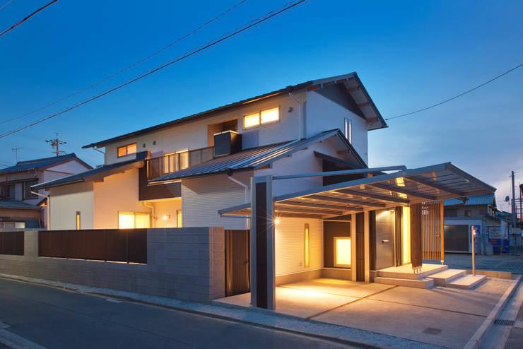 家族の気配が感じられる家: エヌスペースデザイン室が手掛けた家です。