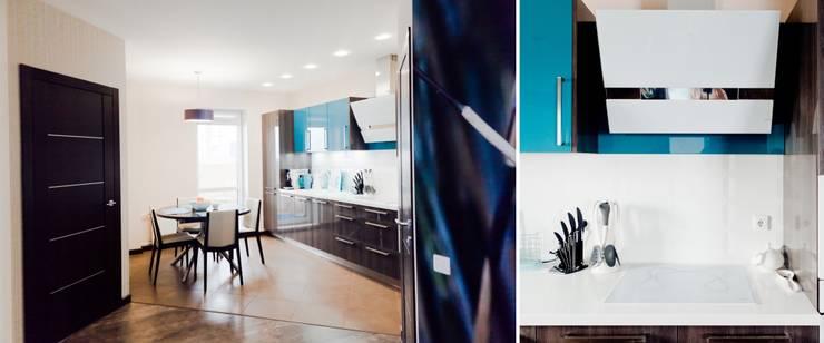 Квартира для молодого человека: Кухни в . Автор – Center of interior design