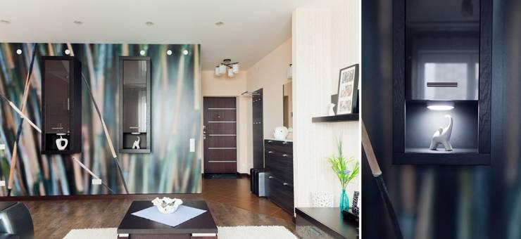Квартира для молодого человека: Коридор и прихожая в . Автор – Center of interior design