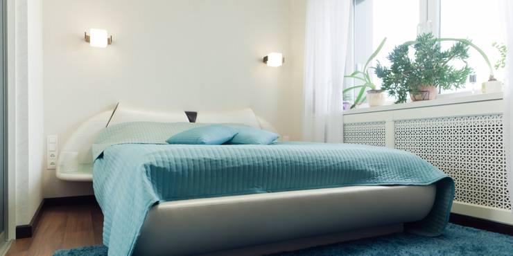 Квартира для молодого человека: Спальни в . Автор – Center of interior design