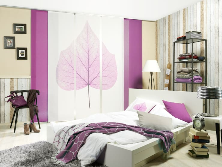 Dormitorios de estilo moderno de emotiontextiles