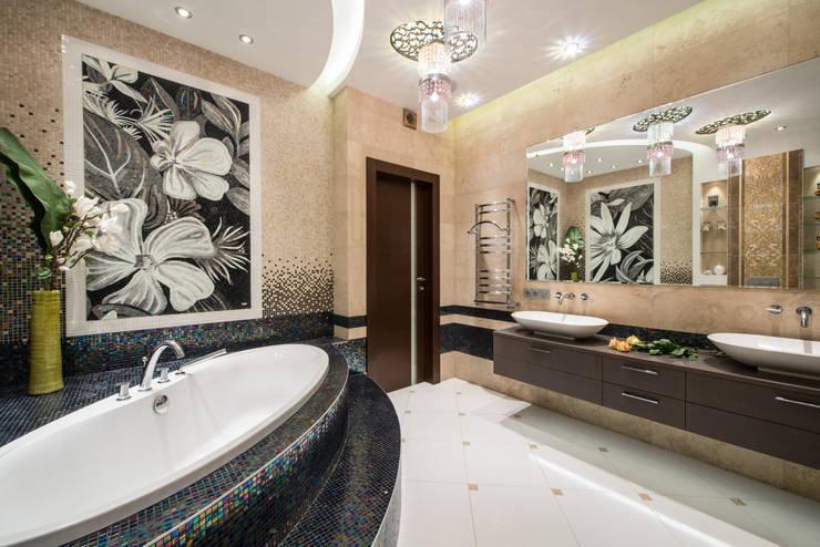Квартира: Ванные комнаты в . Автор – Кирилл Губаревич, Классический