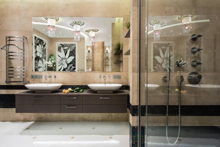 Квартира: Ванные комнаты в . Автор – Кирилл Губаревич